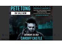 Pete Tong Ibiza Classics Cardiff Castle
