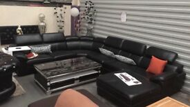 NEW TRADE SUITES - LUXURY GRAND SOFA - RRP 2995 - NOW REDUCED - STUNNING SET - DELIVERED