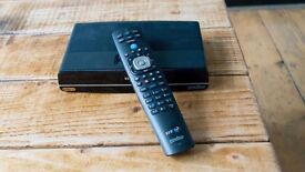 Youview+ Ultra HD box with remote