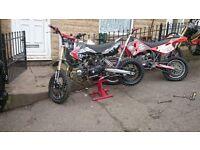 Great lifan 125 pit bike