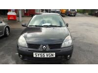 Black Renault Clio- great first car