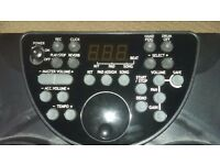 Electronic drum kit, perfect condition, never used.