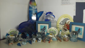 Dolphin collection job lot.