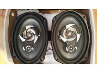 Car Speakers X2 450 Watt Sub - Zero Ice