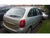 Citreon Picasso 2005, Spares or repairs. Runs but no MOT. £150 ono