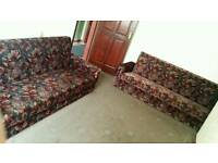2 settees - three seaters - Cheap