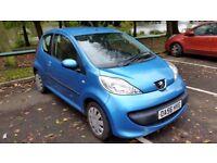 Peugeot 107 12 Month MOT, £20 P.A Road Tax, 76K Miles