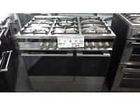 New graded Fisher and paykel range cooker 90cm for sale in Coventry 12 month warranty