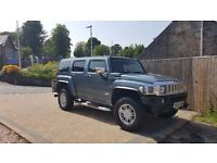 HUMMER H3 GREY/TEAL GREAT CONDITION