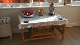wicker conservatory suite, good condition, Buyer to collect,
