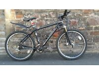 FULLY SERVICED AND FULLY WORKING ADULT MOUNTAIN BIKE WITH HYDRAULIC  BRAKES.TREK MAMBA.FREE