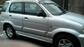 Daihatsu terios 4 wd 1.3ccexcellent cond new test air con cd player lovely car any trial