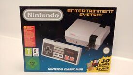 Nintendo Classic Mini Edition Entertainment System Brand New Never Used MIB