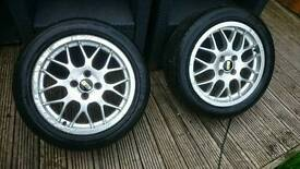 BBS alloys wheels 4x100 Honda civic clio polo golf corsa swift mini corolla