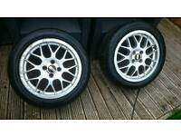 BBS alloys wheels 4x100 Honda civic clio polo golf corsa swift mini corolla