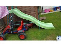 WANTED large garden slide or wooden climbing frame