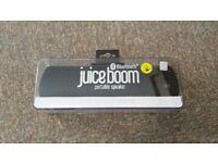 JuiceBoom Bluetooth Speaker -new, unopened box