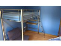 Single bed - Sit n Sleep Highsleeper