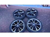 Genuine 19 inch Vauxhall vxr alloy wheels