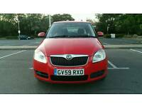 Skoda Fabia 1.4 16v 2 5dr 1 Lady Owner from New+Full Skoda Service History 6 MONTHS WARRANTY