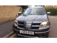 Mitsubishi Outlander 4x4 2.4 Sport (top of the range,leather,4wd,sunroof)