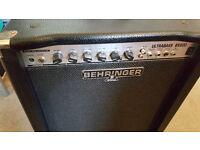 Behringer Ultrabass BX600 Bass Amp