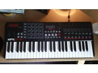 Akai MPK249 MPC & Keyboard - Includes Midi-USB Cable