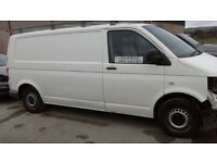 **For breaking** Vw Volkswagen Transporter van (2009).