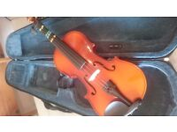 Child's 3/4 Violin with Bow and Case