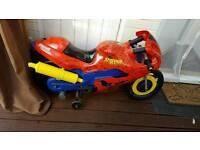 Spiderman electric bike