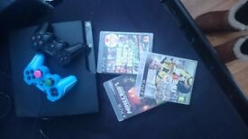 Playstation 3 2 controllers few games