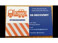 SS RECOVERY!! CONTACT 07404222690 OR 07529 918003
