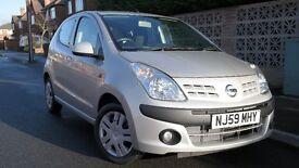 09 Nissan Pixo N-TEC SPEC 1.0 LOW miles 26K with 3MONTHS WARRANTY, £20 to tax per yr £2395 BARGAIN!!