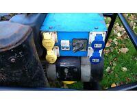 6KVA diesel generator electric start Ruggerini engine 240v 110v