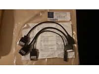 Genuine Mercedes Media Interface Cable lead AUX / USB / IPOD A 166 827 01 04