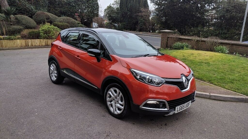 Renault Captur Dynamique Nav Dci Burnt Orange With Black Roof