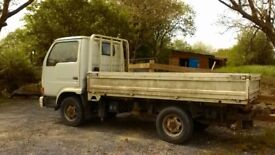 nissan cabstar type dropside cabstar body with 2.3ltr petrol engine MOT to Nov18 private use only
