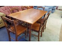 Big Table & 6 Chairs in Great Condition