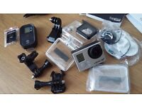GoPro HERO3+ black edition with remote control