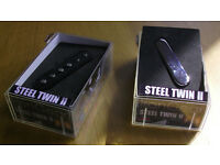 Irongear Steel Twin II guitar pickups - hot telecaster replacement pickups - Neck and Bridge