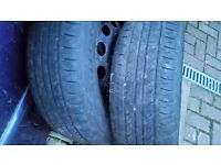 Wheels with tyres 195/65/15