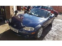 Mazda MX5 Excellent condition-low mileage