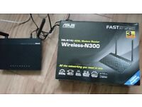 Asus ADSL n300 wireless router.
