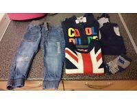 Little bundle of boys clothes