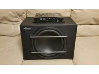 CAR ACTIVE SUBWOOFER MUTANT 1000 WATT 12 INCH WITH AMPLIFIER AND PORTED BASS BOX AMP