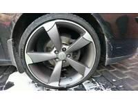 "Audi rotor alloys 18"""