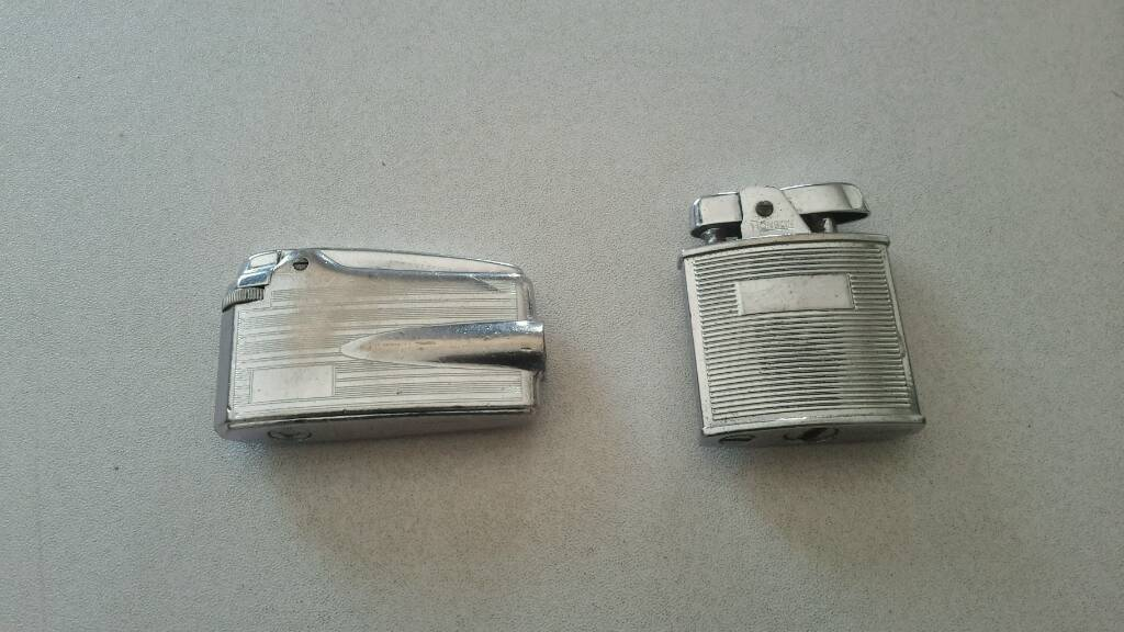 2 x Ronson Vintage Lighters