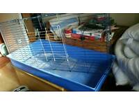 Free large cage for guinea pigs