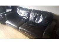 Faux Leather sofa (free)
