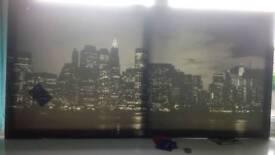 Skyline canvas
